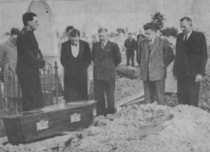 Похороны неизвестного мужчины